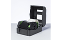 Svart färgband BRP-1D300-110 i premiumharts för termotransferteknik 2