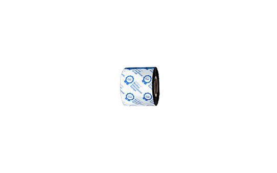 BRS-1D300-060 - Ruban encreur noir en résine standard pour imprimante d'étiquettes à transfert thermique