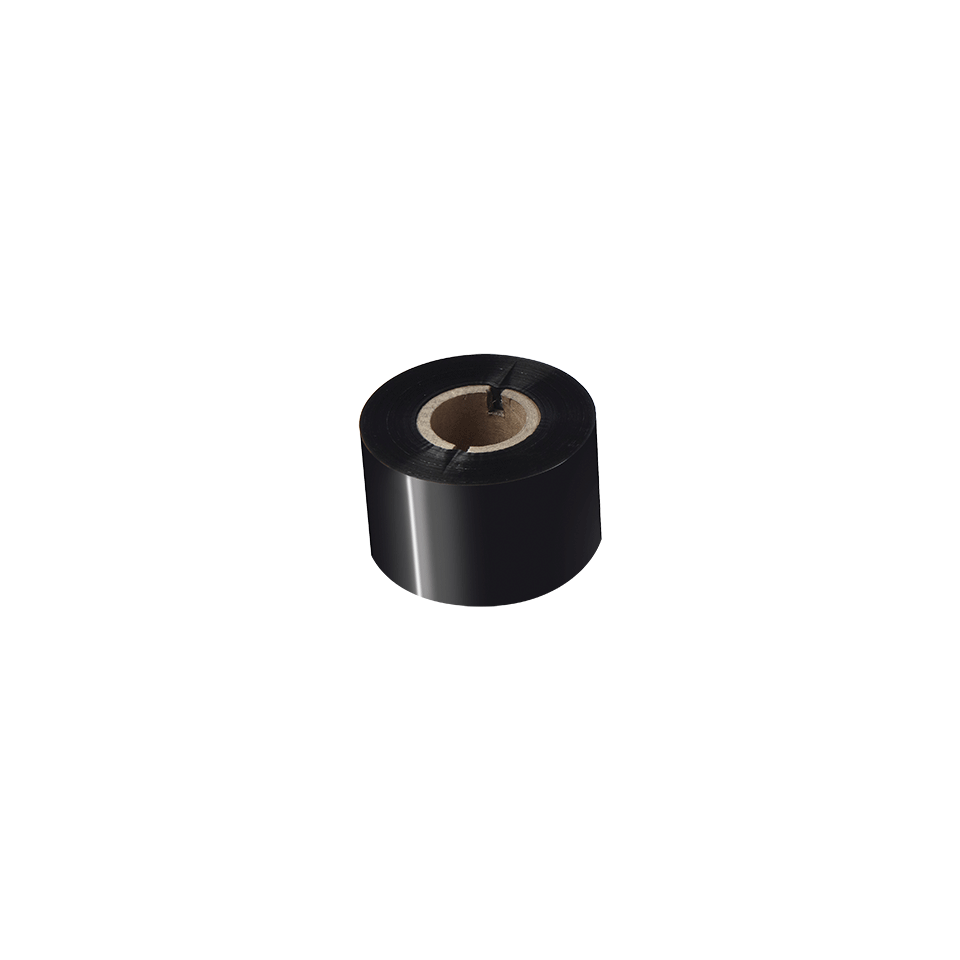 Standarta sveķu termo pārneses melnas tintes lente BRS-1D300-060 2