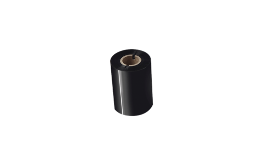 Standarta sveķu termo pārneses melnas tintes lente BRS-1D300-080 2