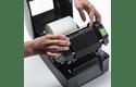 BRS-1D300-110 standaard resin thermal transfer lint met zwarte inkt 3