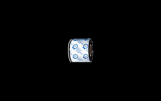 Išskirtinės kokybės vaškinė/dervos terminio perdavimo juosta su juodu rašalu  BSP-1D300-060