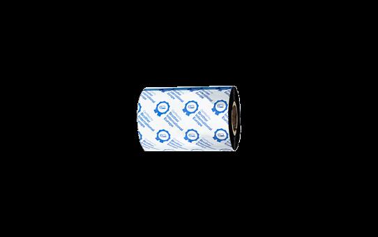 BSP-1D300-080 - Ruban encreur noir en cire / résine premium à transfert thermique