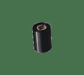 Išskirtinės kokybės vaškinė/dervos terminio perdavimo juosta su juodu rašalu BSP-1D300-080