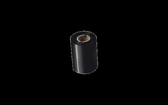 BSP-1D300-080 - Ruban encreur noir en cire / résine premium à transfert thermique 2