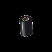 BSP1D300080 80mm black thermal transfer ribbon transparent background
