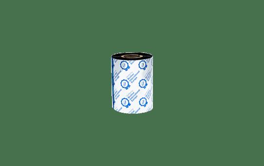 BSP-1D300-080 - Ruban encreur noir en cire / résine premium à transfert thermique 3