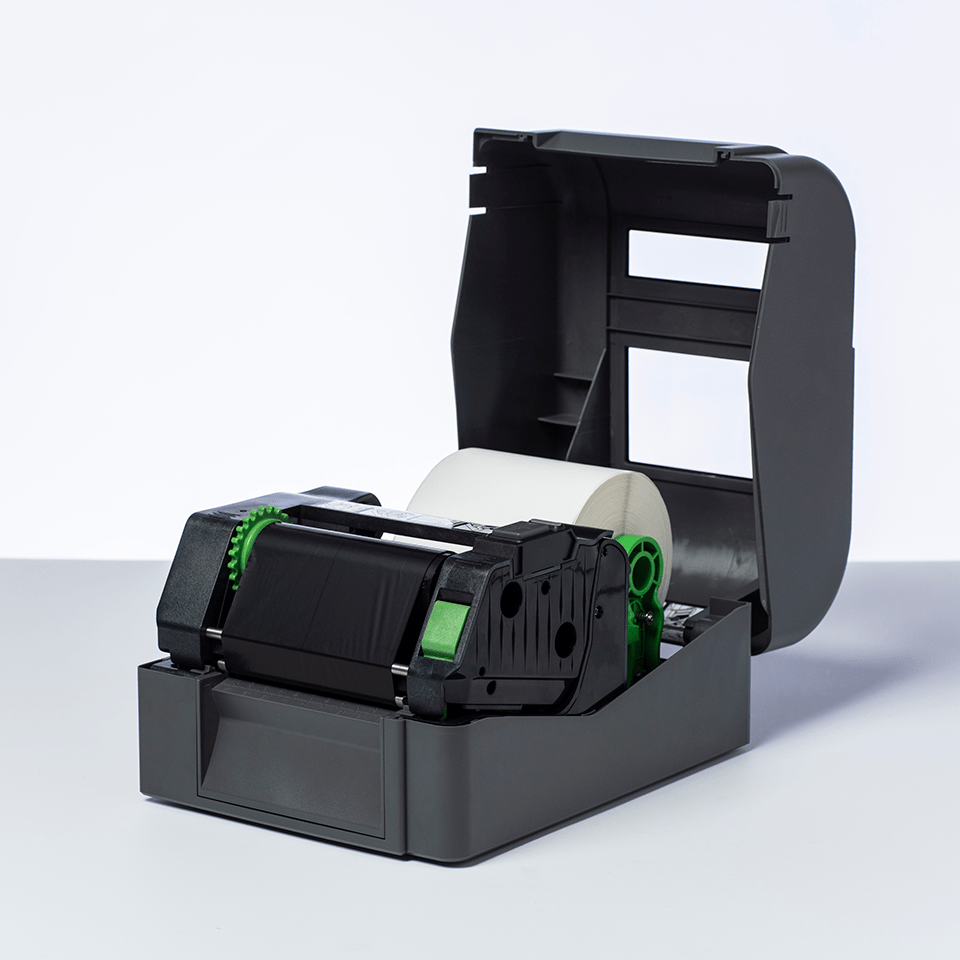 BSP-1D300-110 ribbon cu cerneală/rășină  premium și cerneală neagră pentru transfer termic 2