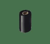 Premium vaska/sveķu (wax/resin) termo pārneses melna tintes lente BSP-1D300-110
