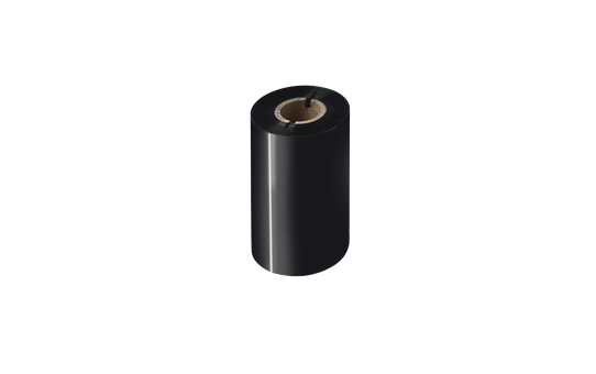 BSP-1D300-110 - Ruban encreur noir de cire / résine premium à transfert thermique