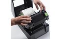 Premium Wax/Resin Thermal Transfer Black Ink Ribbon BSP-1D300-110 3