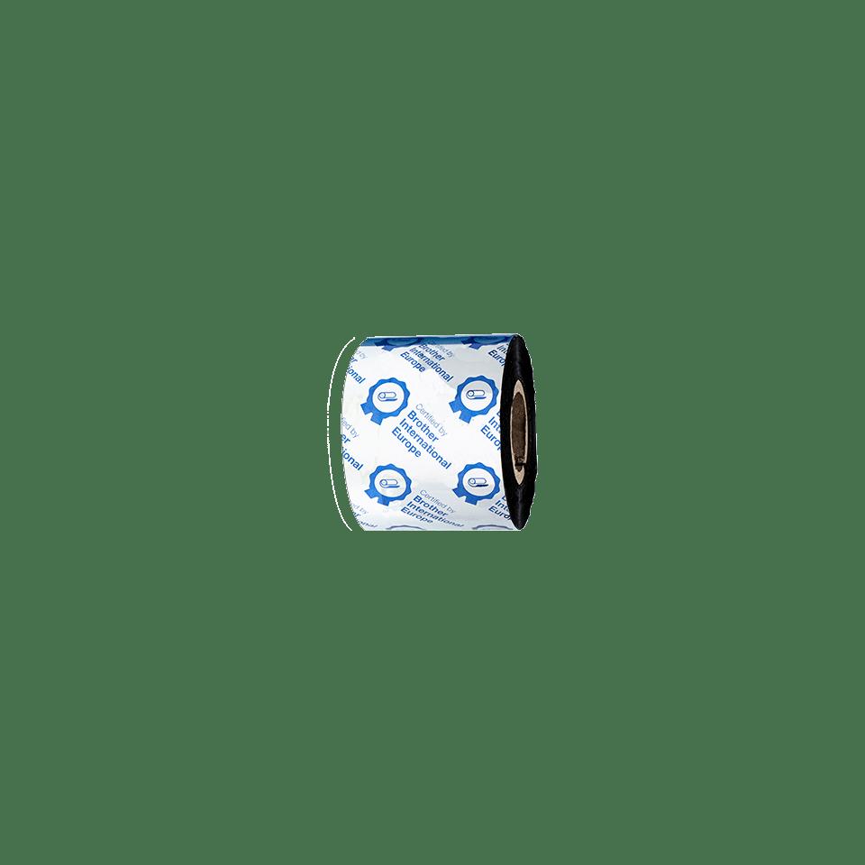 Standarta vaska/sveķu termo pārneses melnas tintes lente BSS-1D300-060