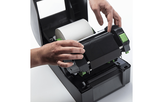 Standard Wax/Resin Thermal Transfer Black Ink Ribbon BSS1D300110 3