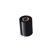 BWP1D300080 80mm black thermal transfer ribbon transparent background