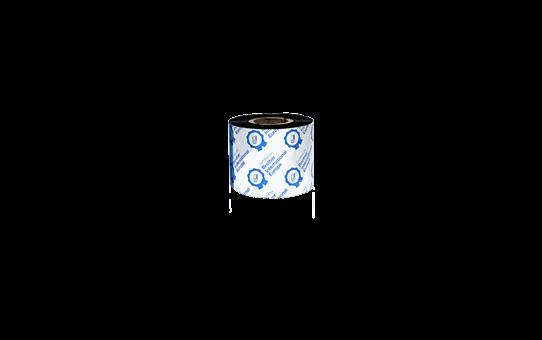 BWS-1D300-060 - Ruban encreur noir en cire standard à transfert thermique 3