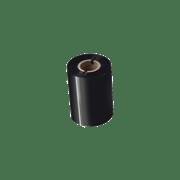 BWS1D300080 80mm black thermal transfer ribbon transparent background