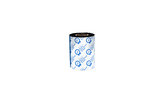 BWS-1D300-080 - Ruban encreur noir en cire standard à transfert thermique 3