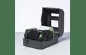 BWS-1D300-110 - Ruban encreur noir de cire standard à transfert thermique 2