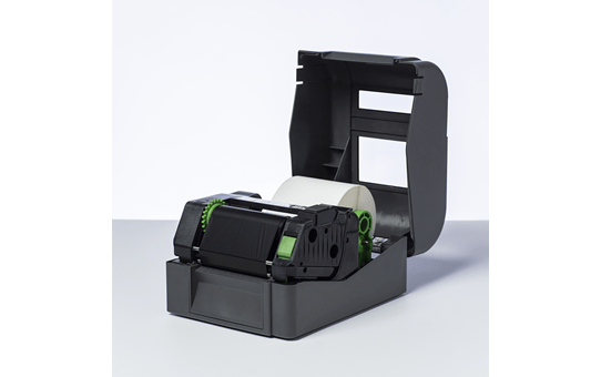 Įprastinė vaškuota juodo rašalo terminio perdavimo juosta BWS-1D300-110 2
