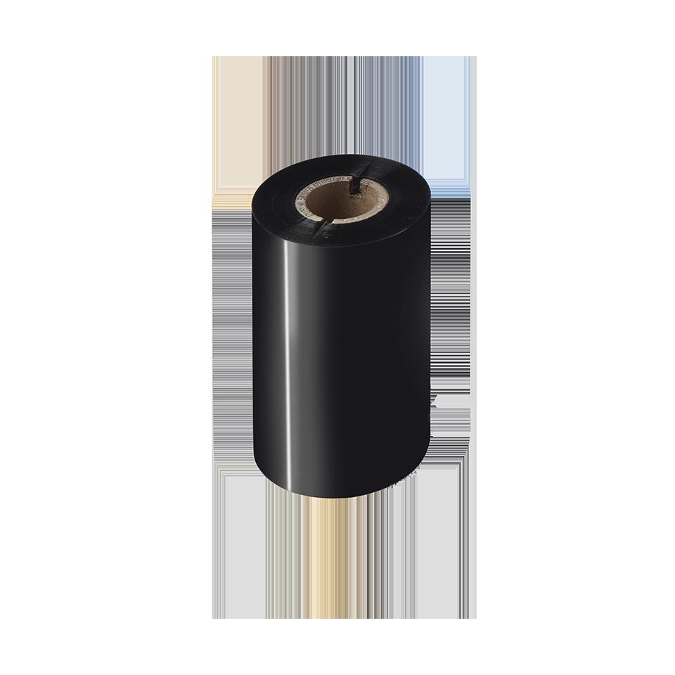 Črni črnilni trak v roli za toplotni prenos