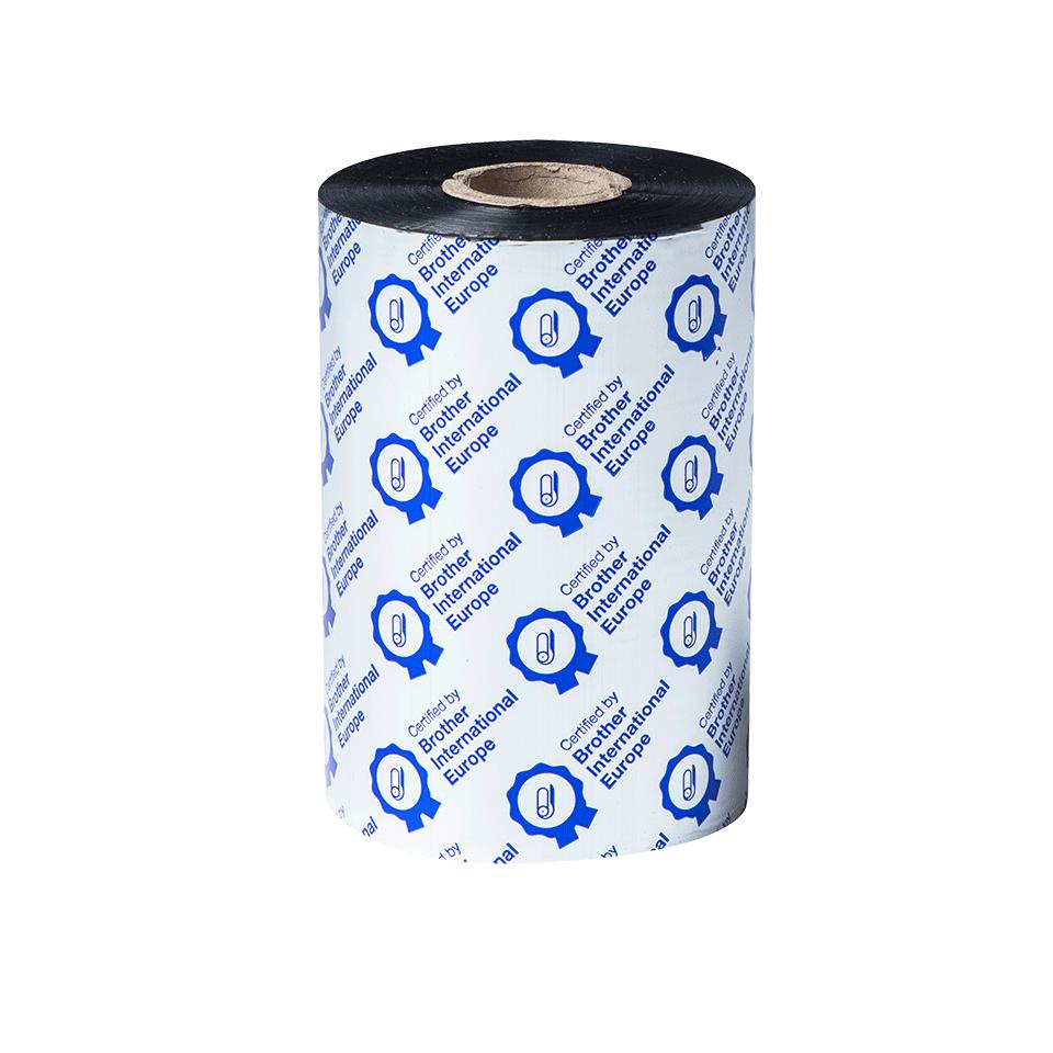 BRP1D450110 450 m barvonosná páska pro tiskárnu TJ s průhledným pozadím z přední strany