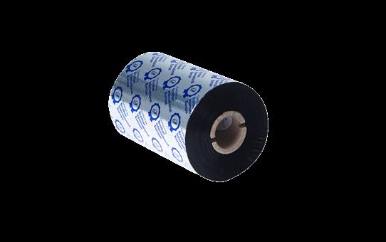 Įprastinė juodo rašalo terminio perdavimo juosta iš dervos BRS-1D450-110