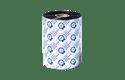 BRS-1D600-110 - Ruban encreur noir en résine standard à transfert thermique 2