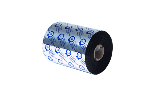 Standarta sveķu termo pārneses melnas tintes lente BRS-1D600-110 3