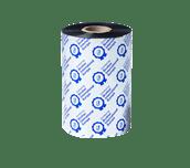 Išskirtinės kokybės juodo rašalo terminio perdavimo juosta iš vaško/dervos BSP-1D450-110