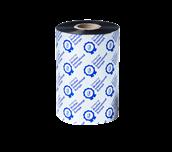 BSP-1D450-110 czarna termotransferowa taśma woskowo-żywiczna premium