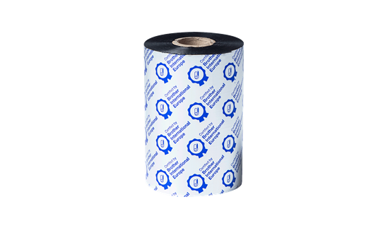 Nastro nero a trasferimento termico a base cera/resina Premium BSP-1D450-110 2