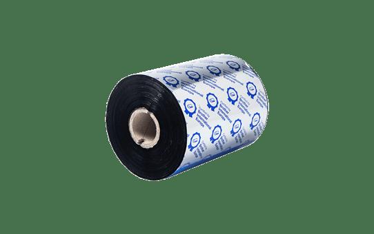 BSP1D600110 sort bånd i premium voks/harpiks for termisk overføring
