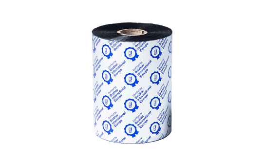 BSP1D600110 sort bånd i premium voks/harpiks for termisk overføring 2