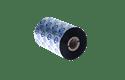 Ruban encreur noir de cire/résine standard à transfert thermique BSS-1D450-110 (Boîte avec 8 rouleaux)