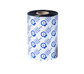 BSS-1D450-110 czarna standardowa taśma termotransferowa woskowo-żywiczna