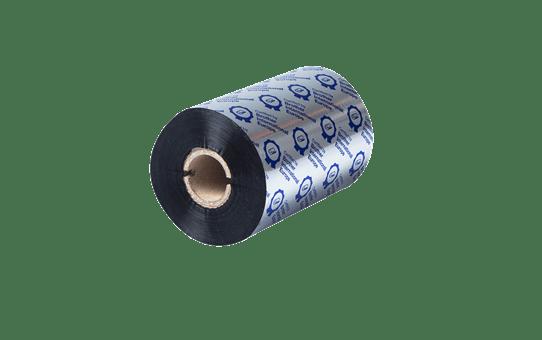 Įprastinė juodo rašalo terminio perdavimo juosta iš vaško/dervos BSS-1D450-110 3