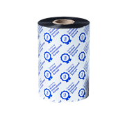 BWS1D450110 450 m barvonosná páska pro tiskárnu TJ s průhledným pozadím z přední strany