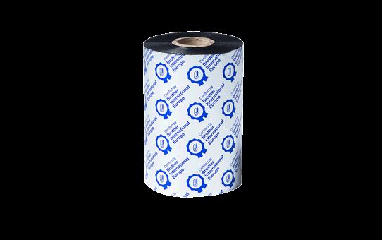 Стандартна восъчна термо-трансферна лента с черно мастило BWS-1D450-110 2