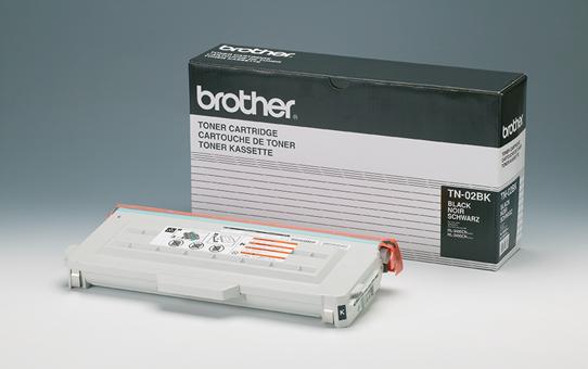 Brother TN02BK toner zwart - standaard rendement