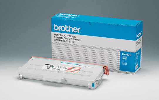 Brother TN02C toner cyan - rendement standard