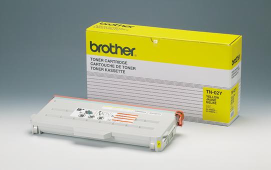 Brother TN02Y toner geel - standaard rendement
