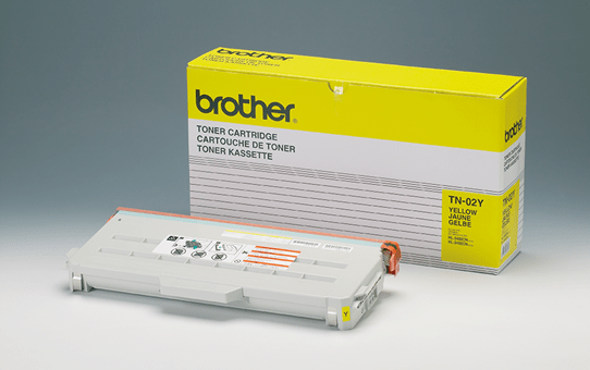 Brother TN02Y toner jaune - rendement standard