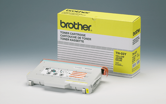 Brother TN03Y toner geel - standaard rendement