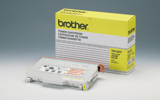 Brother TN03Y toner jaune - rendement standard