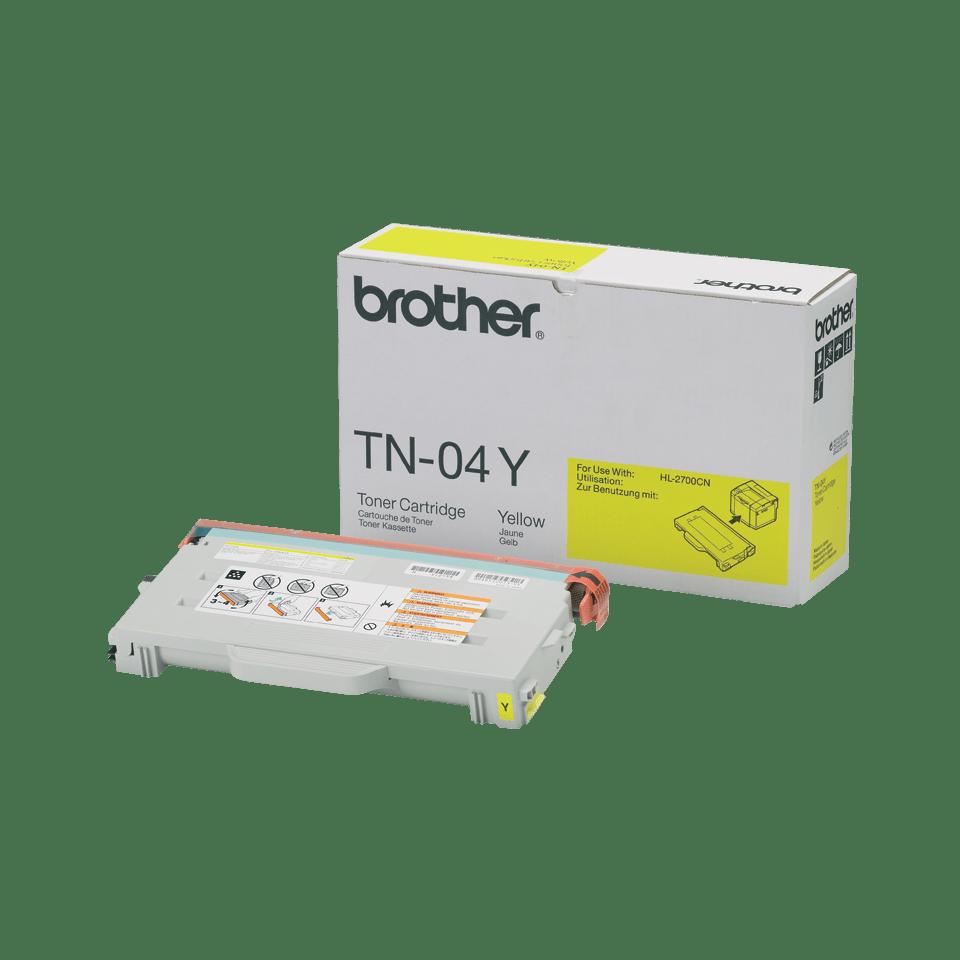 Brother TN04Y toner jaune - rendement standard