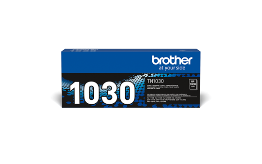 Eredeti Brother TN-1030 tonerkazetta – Fekete