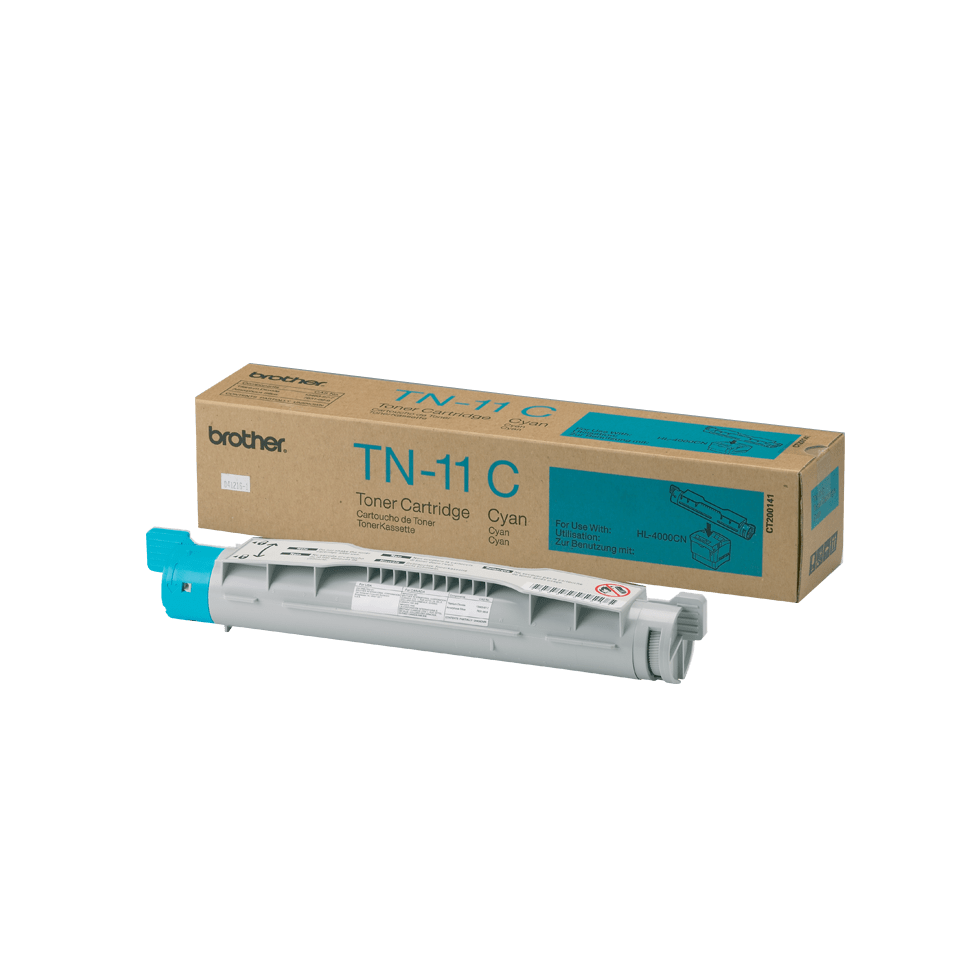Brother TN11C toner cyan - rendement standard