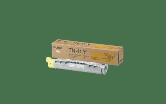 Brother TN11Y toner jaune - rendement standard