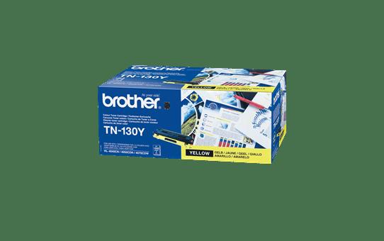 Brother original TN130Y tonerkassett – gul