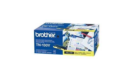 Cartuccia di toner originale Brother TN-130Y – Giallo